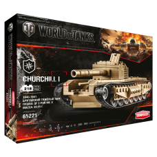 "Конструктор ""World of Tanks. Churchill I"", 218 дет."